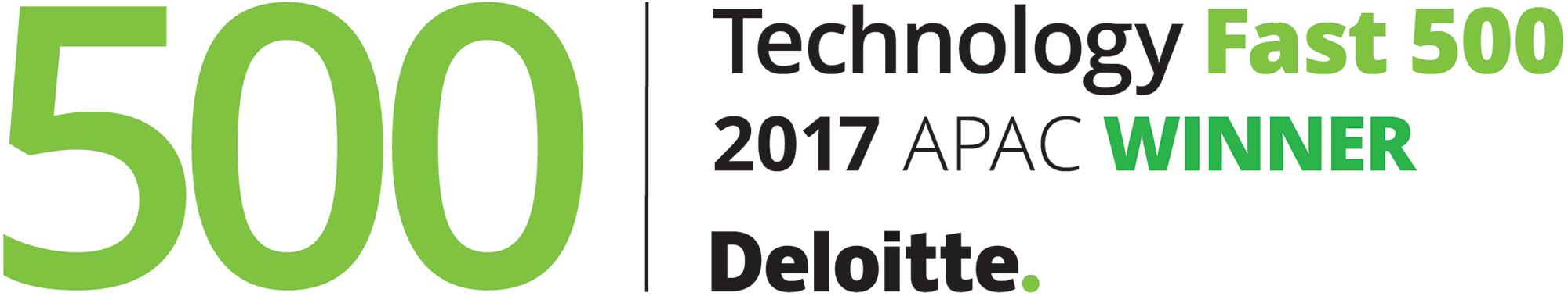 【福島県発、世界のIT企業へ】「デロイト 2017年 アジア太平洋地域テクノロジー Fast500」413位に入賞致しました