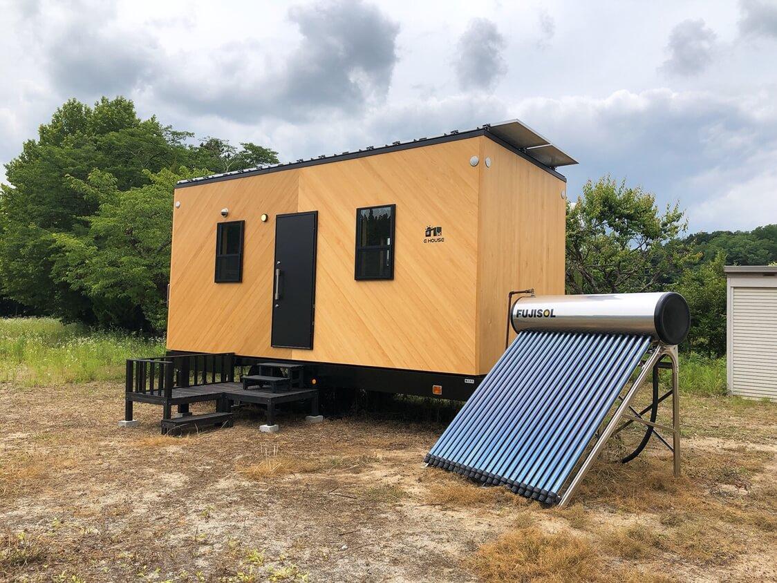 自然に優しくコンパクトな生活と自由な働き方を、IT品質で支える!<br>オフグリッド型住居テストフィールドを郡山に構築
